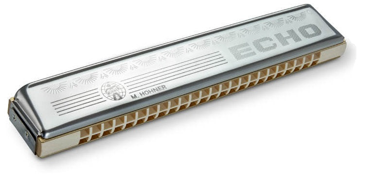 Hohner 2509-C Echo 48 Tremelo Harmonica, Key of C