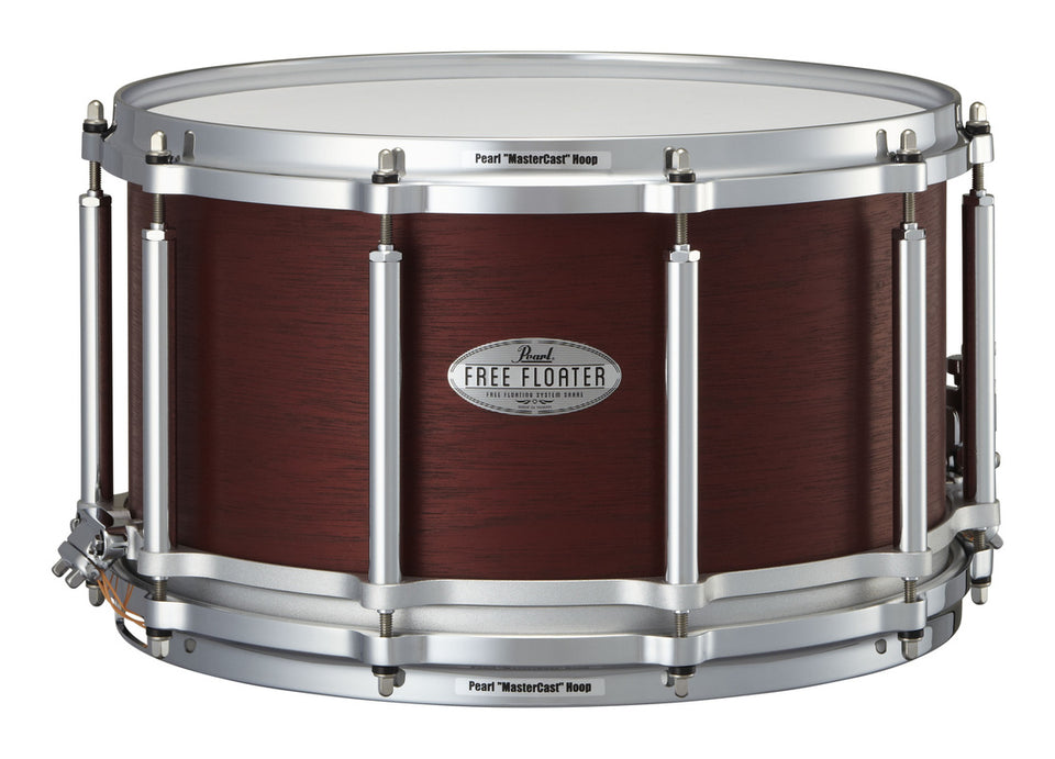 "Pearl 14"" x 8"" African Mahogany Free Floating Snare Drum"
