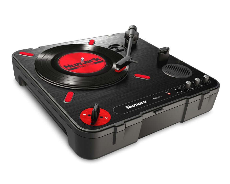 Numark PT01 Scratch Portable DJ Turntable With Scratch Switch