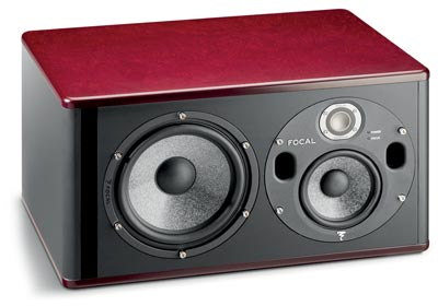 Focal Trio6 BE Active 3-Way Studio Monitor - Red