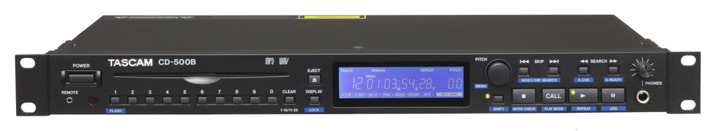 Tascam CD-500B Single-Rackspace CD Player