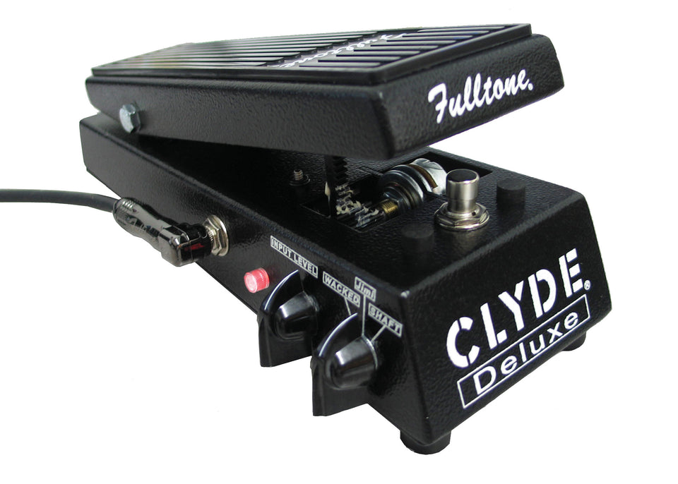 Fulltone CDW CLYDE Deluxe Triple Voice Wah-Wah Guitar Effects Pedal