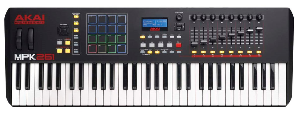 Akai MPK261 Performance Keyboard Controller