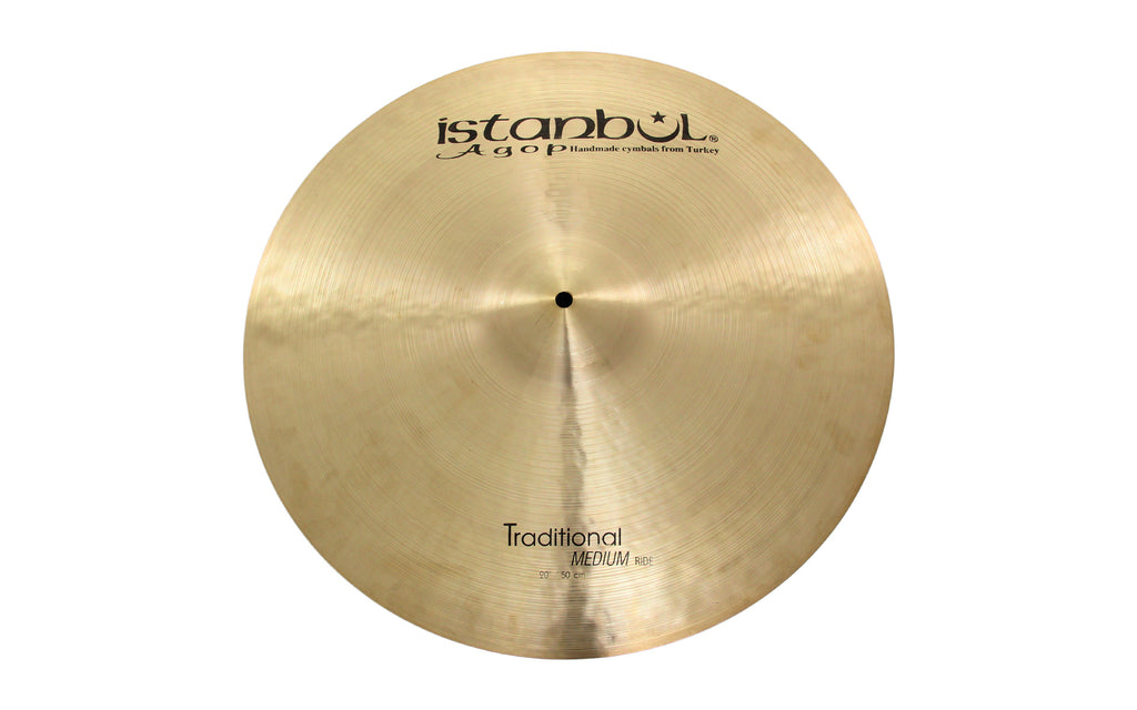 "Istanbul Agop 20"" Traditional Medium Ride Cymbal"