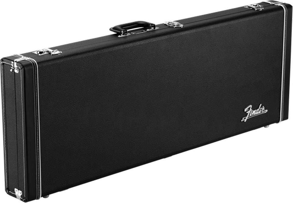 Fender Jazzmaster/Jaguar Pro Series Hard Shell Case, Black