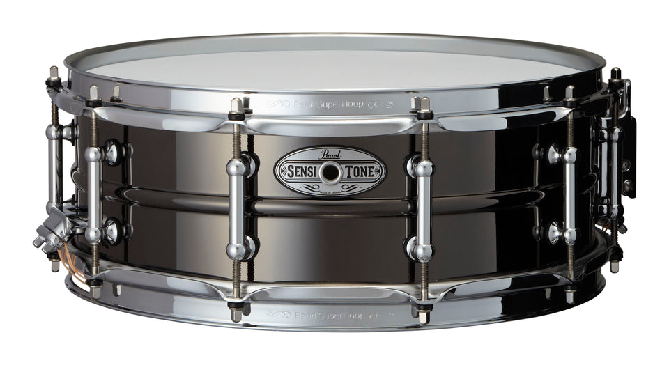 "Pearl 14"" x 5"" SensiTone Beaded Brass Snare Drum"