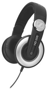 Sennheiser HD205-II HD Series Closed On-Ear Studio / DJ Headphones