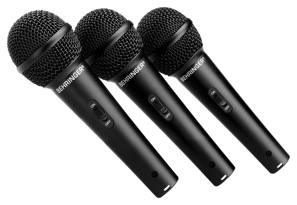 Behringer Ultravoice XM1800S Microphones (Set Of 3)