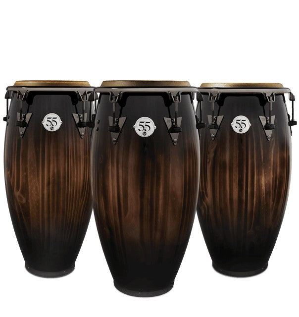 Latin Percussion LP1333-55 55th Anniversary Quinto, Conga, Tumba Set