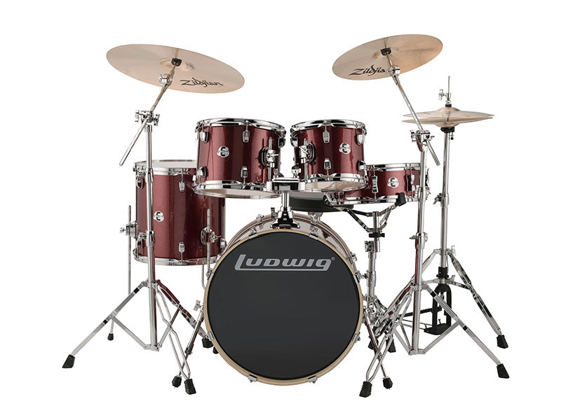 Ludwig Element Evolution 5 Piece Drum Set