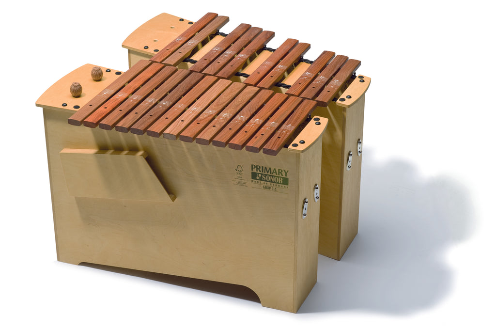 Sonor Orff GBXP 3.1 Deep Bass Xylophone - Full Chromatic, Primary FSC Series