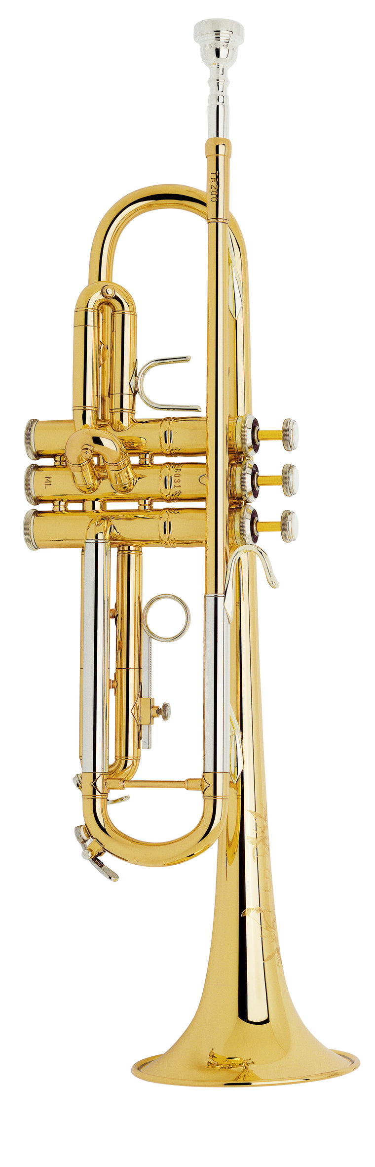 Bach TR200 Step Up B-Flat Trumpet Outfit