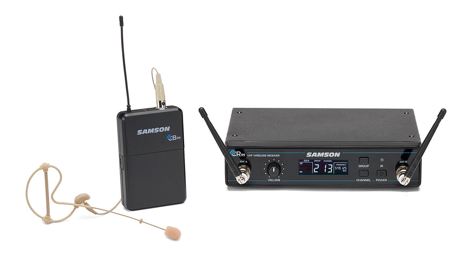 Samson Concert 99 Earset Frequency Agile UHF Wireless System