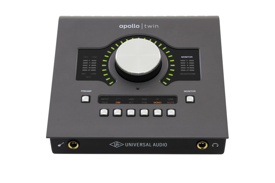 Universal Audio Apollo Twin DUO MKII Thunderbolt Audio Interface