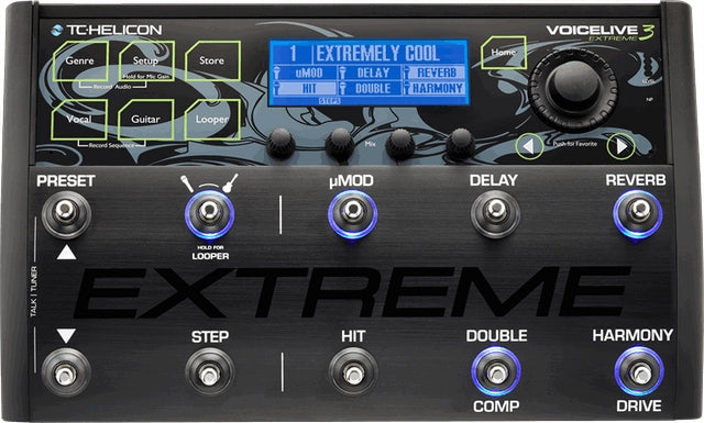 TC Helicon VoiceLive 3 Extreme Vocal Processor