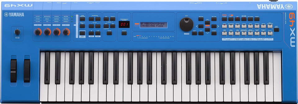 Yamaha MX49BU 49-Key Synthesizer Controller - Blue