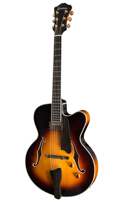 Eastman AR503CE-SB Archtop Electric Guitar - Ebony Fingerboard, Sunburst