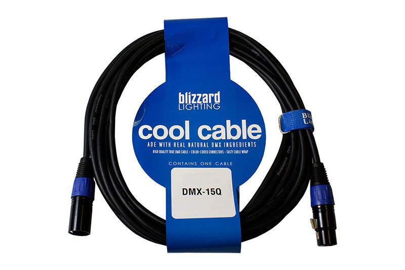 Blizzard Cool Cables 3-Pin DMX Cable - 15ft