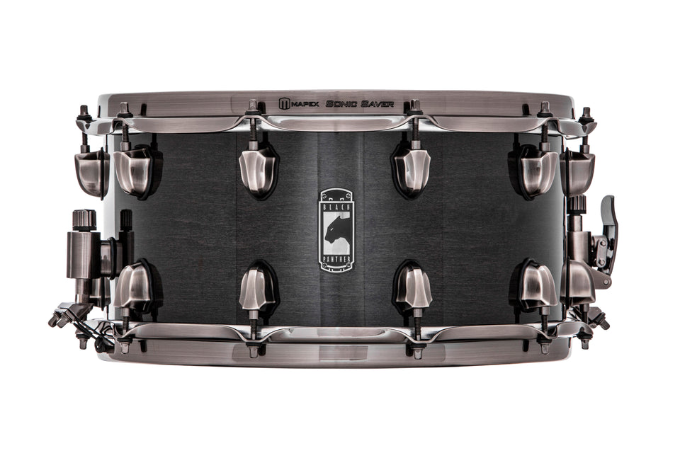 "Mapex 14"" x 7"" Black Panther Series Snare Drum Phatbob"