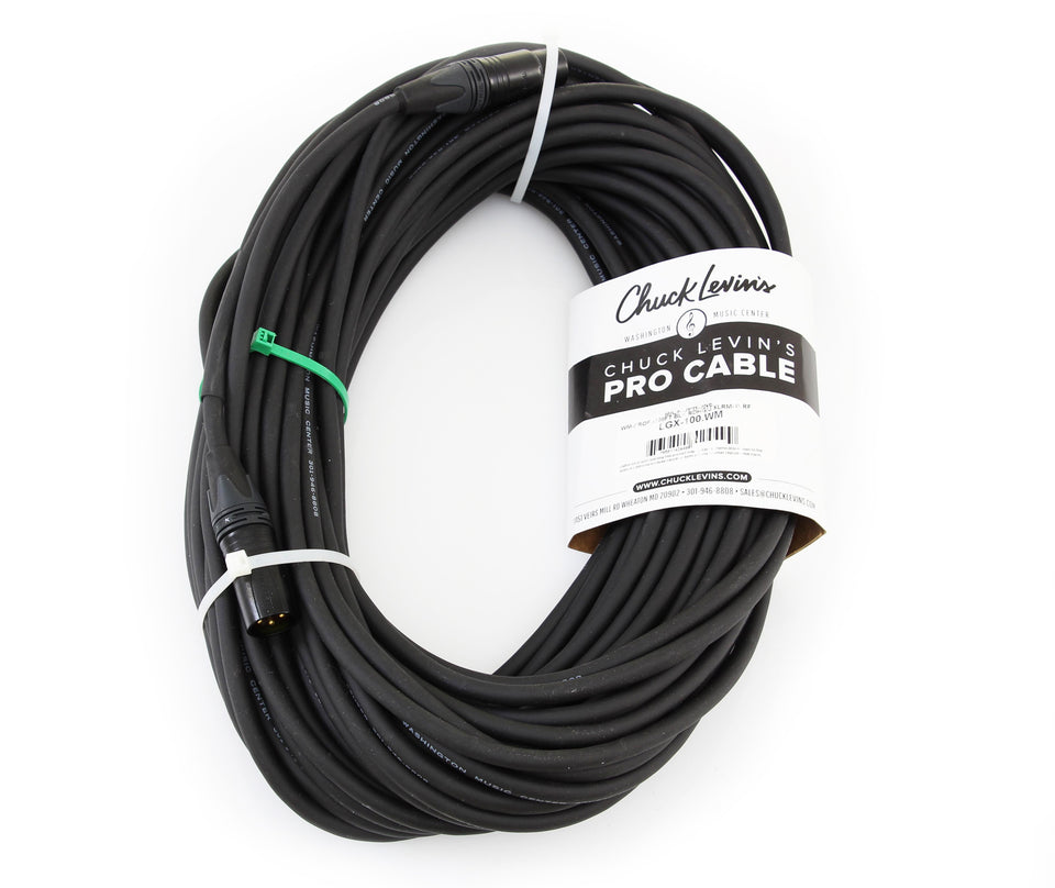 Chuck Levin's Premium Microphone Cable - 100ft