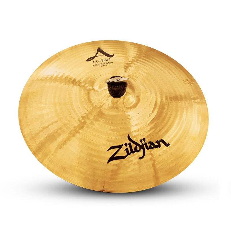 "Zildjian 17"" A Custom Medium Crash Cymbal"