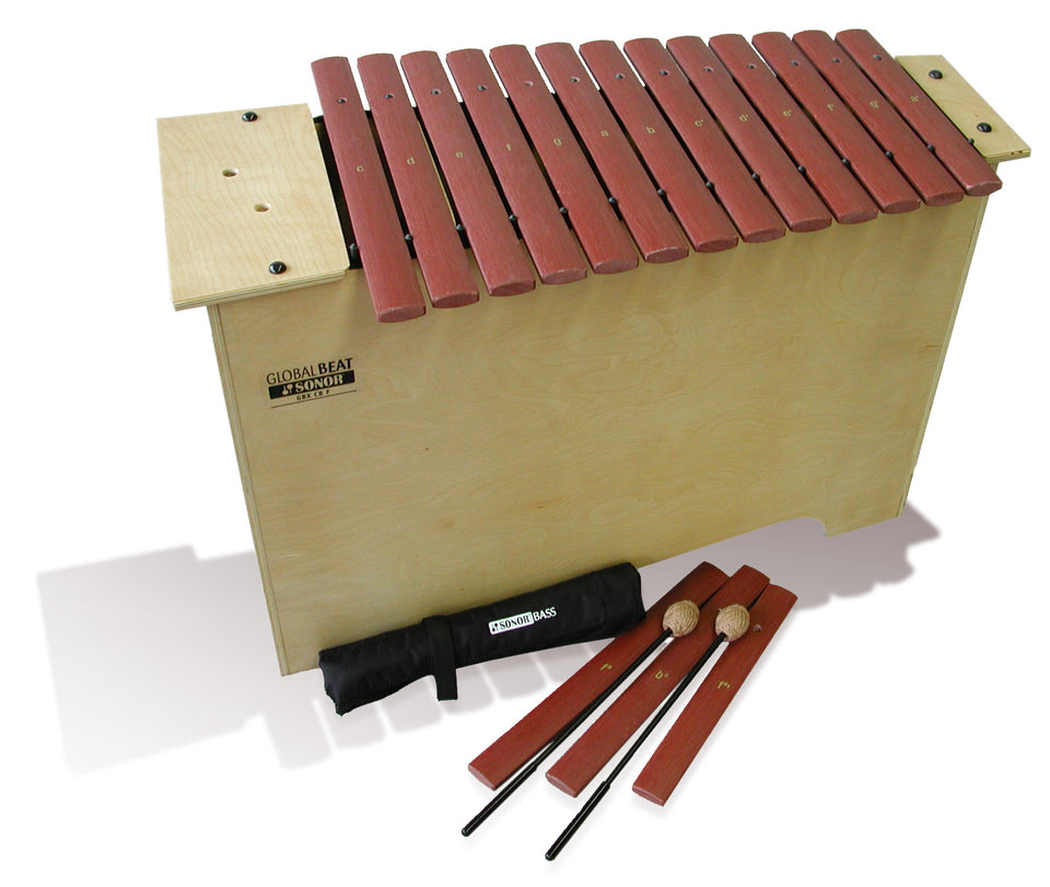 Sonor Orff GBX-GBF Deep Bass Xylophone - Fiberglass Bars, Global Beat Series