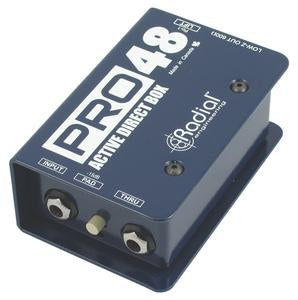 Radial Engineering Pro48 PRO Series Active Direct Box