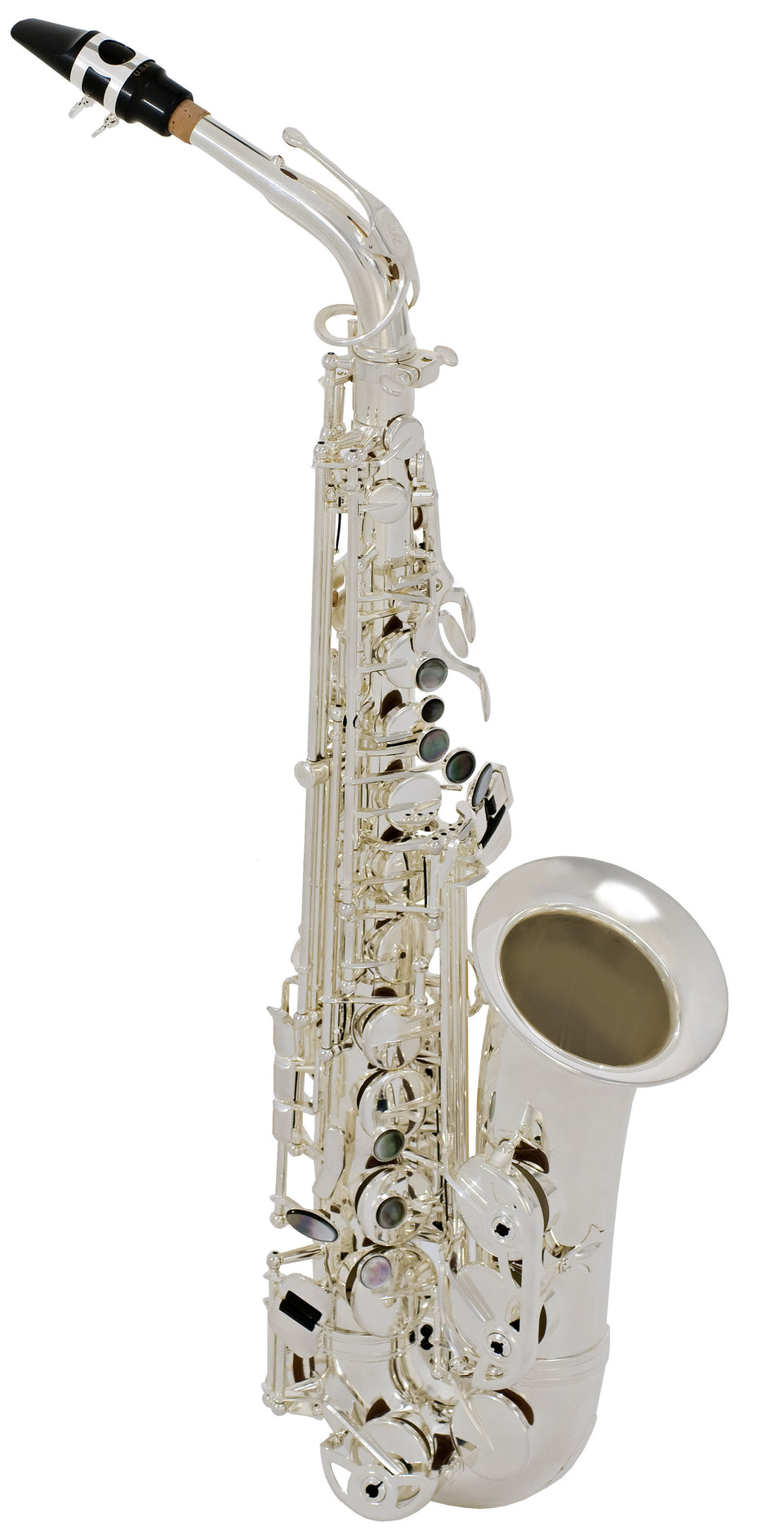 Selmer Model SAS280RS Step-Up Alto Saxophone Outfit, Silver Plated