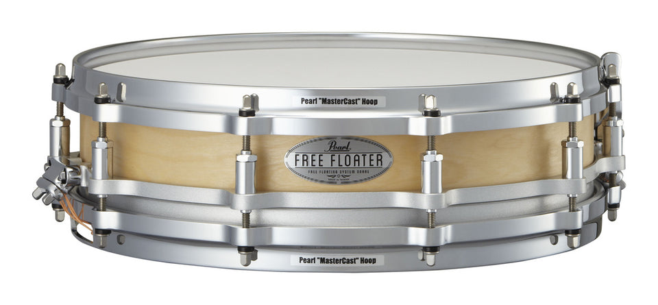 "Pearl 14"" x 3.5"" Birch Free Floating Snare Drum Satin Birch"