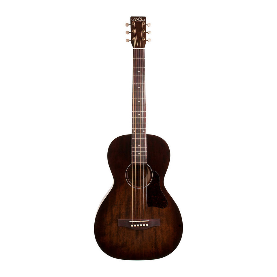 Art & Lutherie Roadhouse Parlor Acoustic Electric Guitar - Bourbon Burst