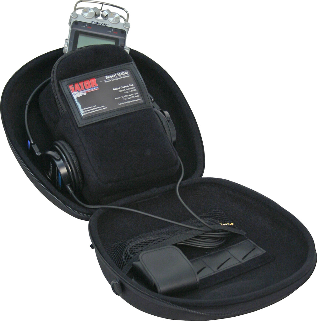 Gator Cases G-MICRO PACK Recorder & Headphone Case