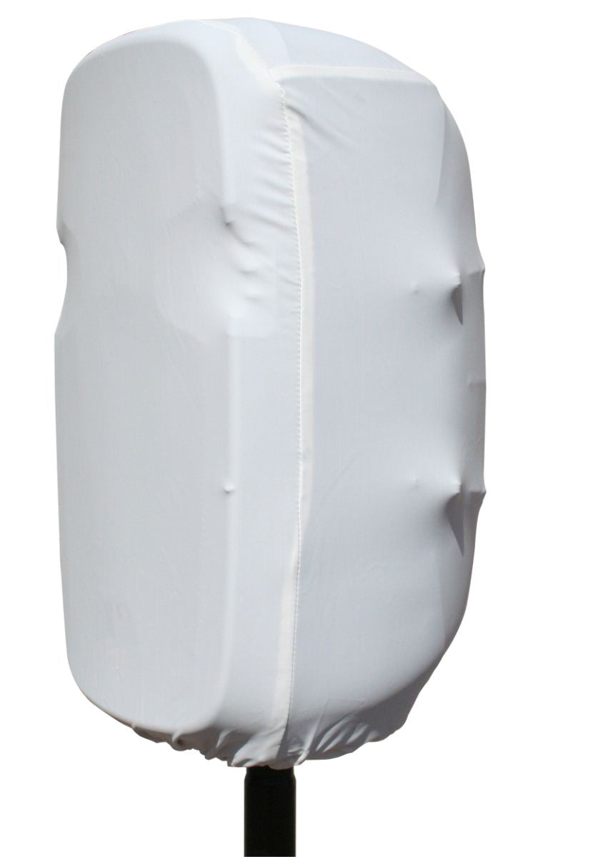 Gator GPA-STRETCH-15-W White Stretchy Dust Cover To Fit Most 15 Inch Portable Speaker Cabinets