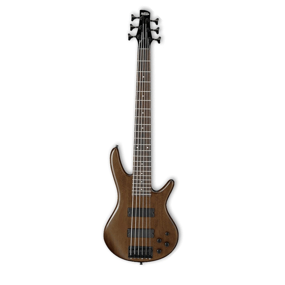 Ibanez GSR206B GIO 6 String Electric Bass Guitar - Walnut Flat