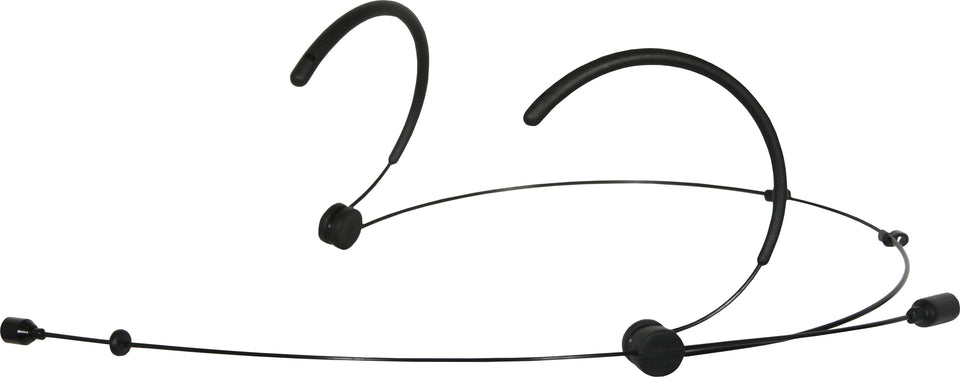 Galaxy Audio HS3-OBK-SHU Lightweight Headset Microphone For Shure Or Line 6 Wireless Systems - Black
