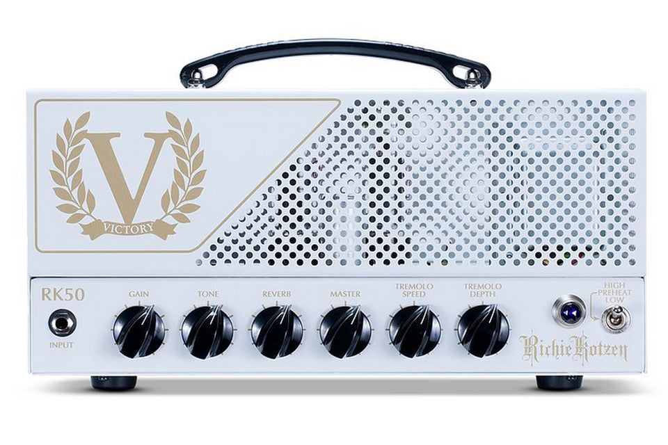 Victory Amps RK50 Richie Kotzen Signature 50W Valve Amplifier Head
