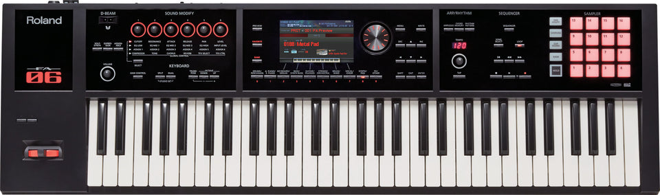 Roland FA-06 61 Key Music Workstation