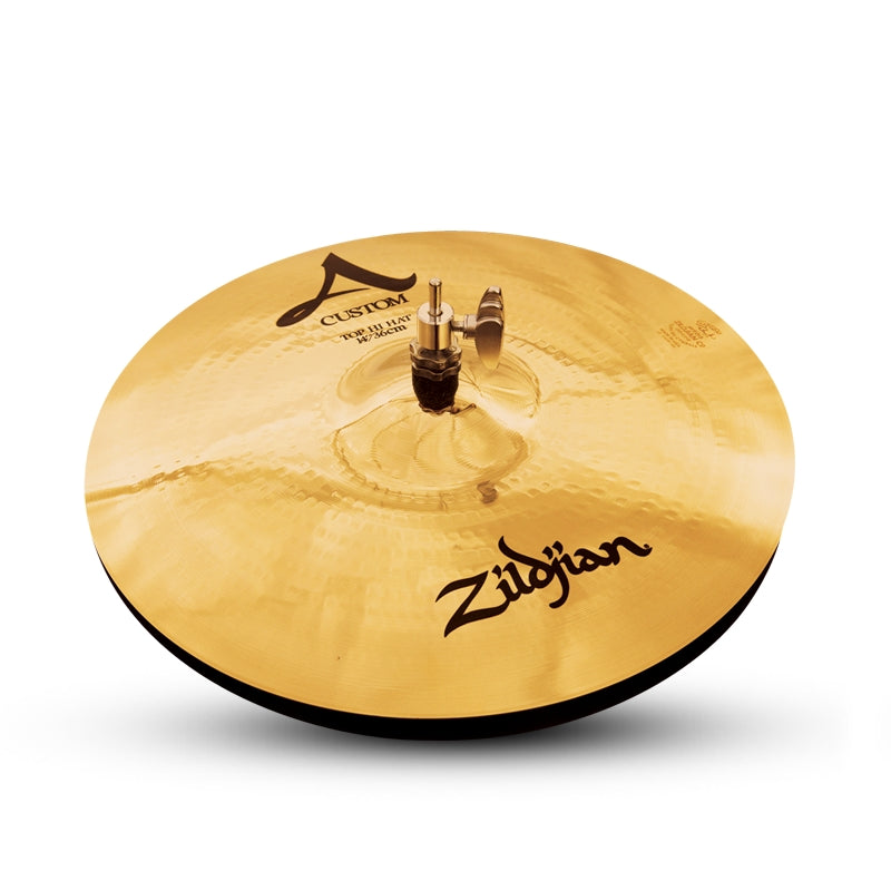 "Zildjian 14"" A Custom Hi-Hat Cymbal Top"