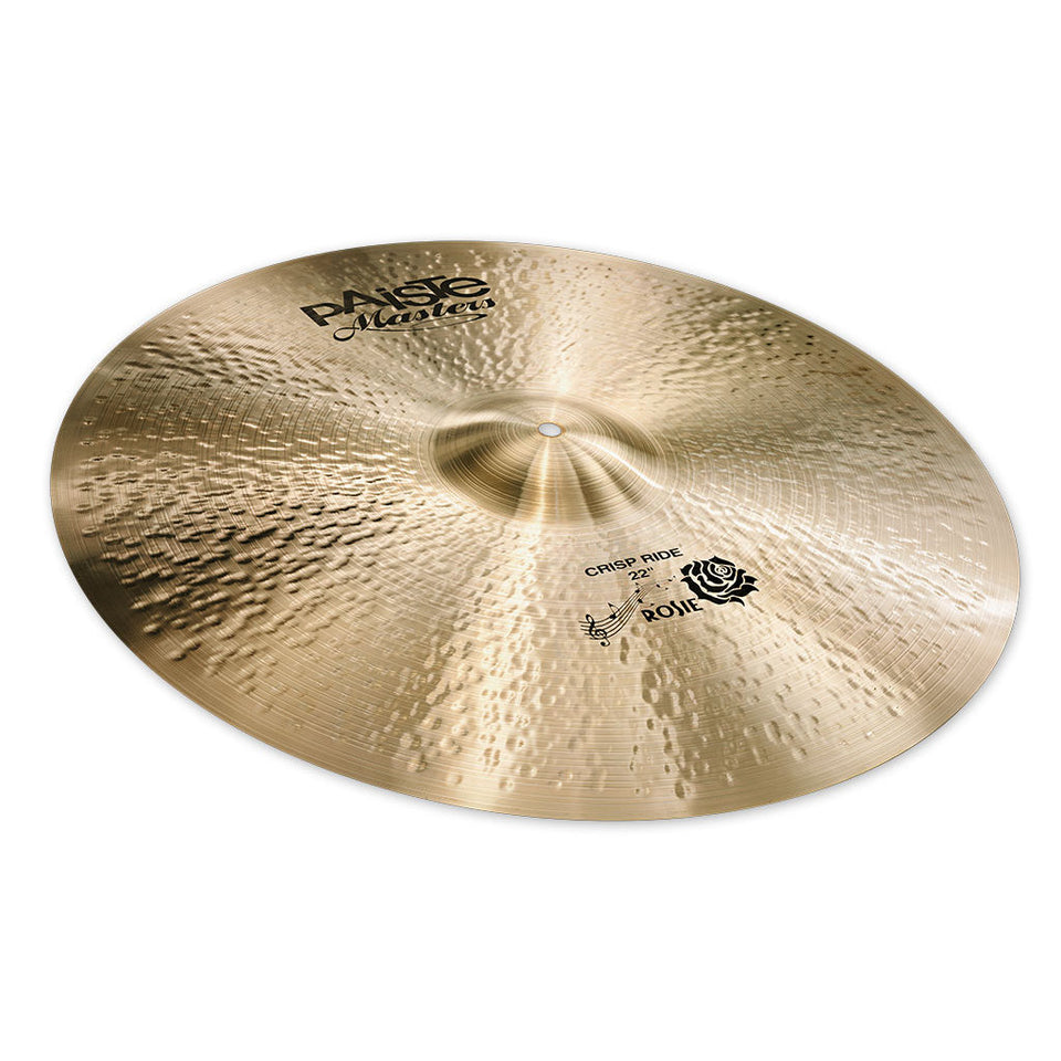 "Paiste 22"" Masters Crisp Ride Cymbal"