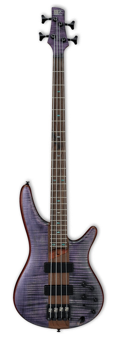Ibanez SR870-DTF Electric Bass - Deep Twilight Flat