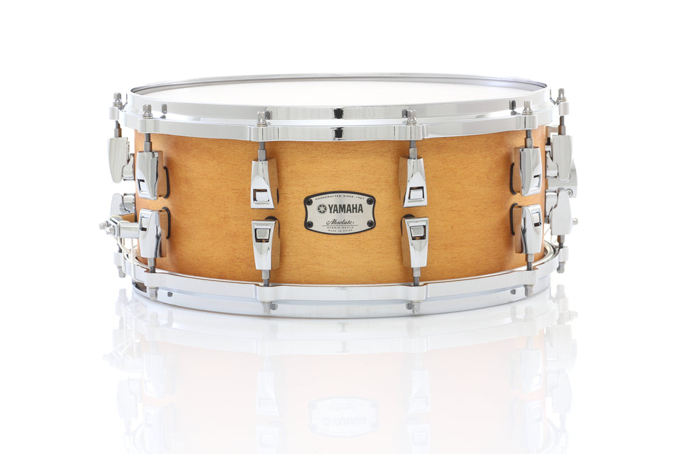 "Yamaha 14"" x 6"" Absolute Hybrid Maple Snare Drum - Vintage Natural"