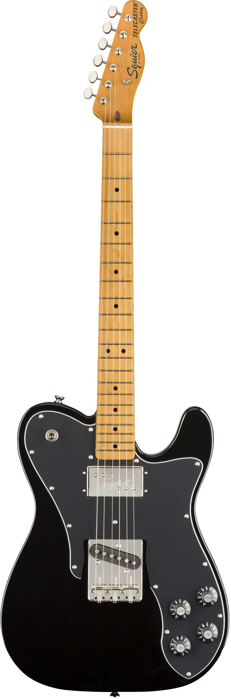 Squier Classic Vibe '70S Telecaster Custom Electric Guitar, Maple Fingerboard