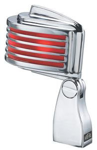Heil FIN-R Retro Vocal Microphone with Red LED Lights