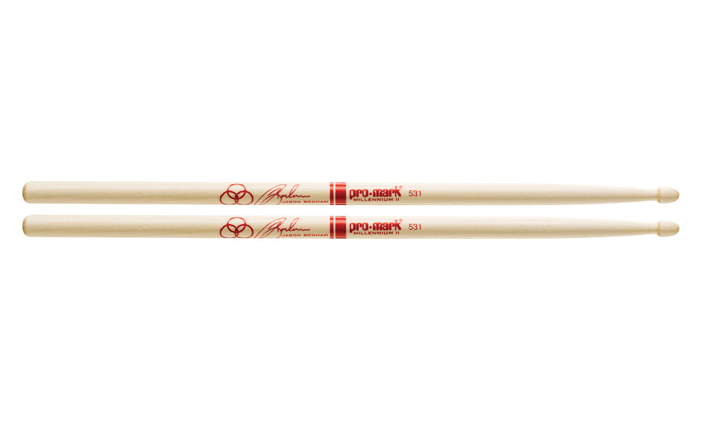Promark SD531W Maple SD531 Jason Bonham Wood Tip drumstick