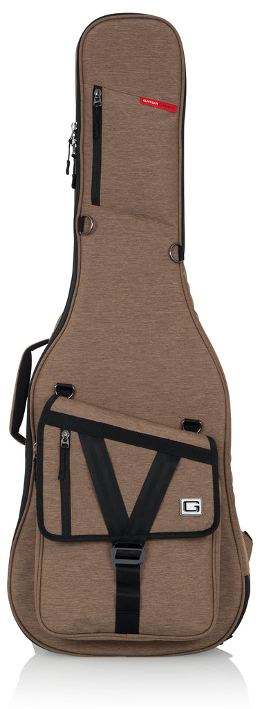 Gator GT-ELECTRIC-TAN Transit Electric Guitar Bag - Tan