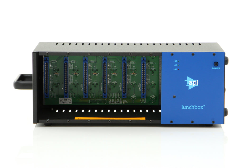 API 500-6B 500 Series 6 Slot Lunchbox