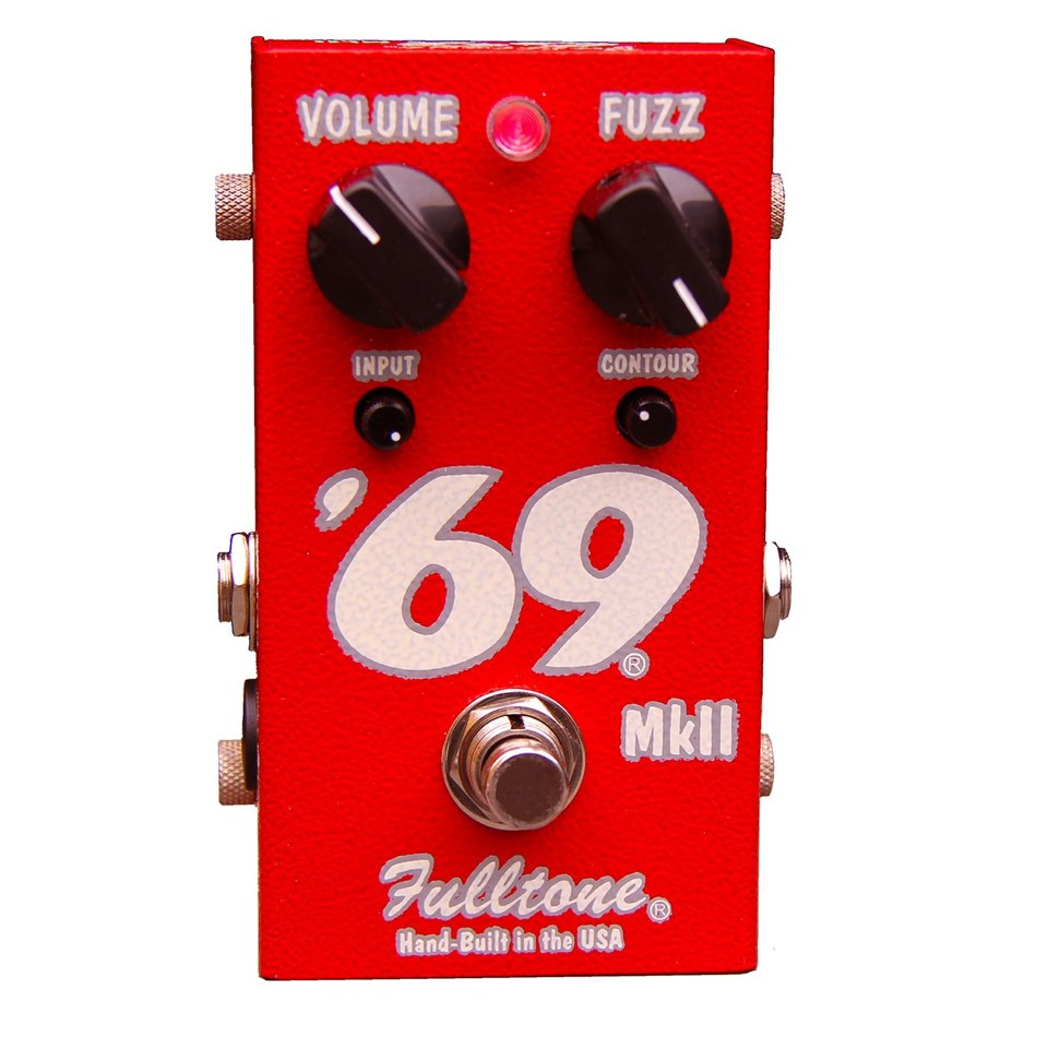 Fulltone 69 MKII Fuzz Guitar Effects Pedal