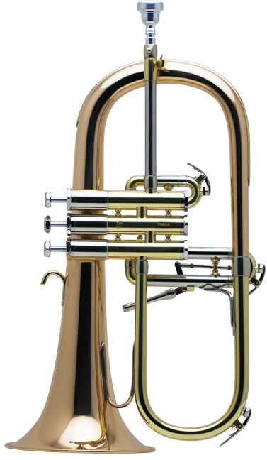 Schilke 1040FLBR Bb Flugelhorn - Brushed Finish