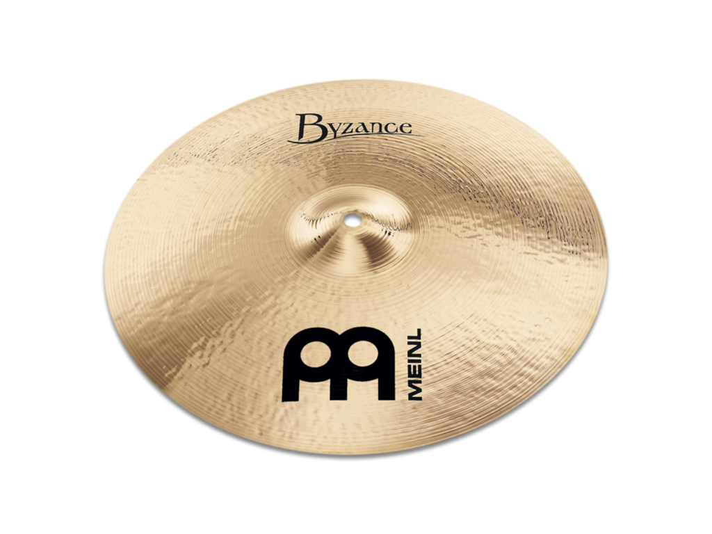 "Meinl 18"" Byzance Brilliant Medium Crash Cymbal"