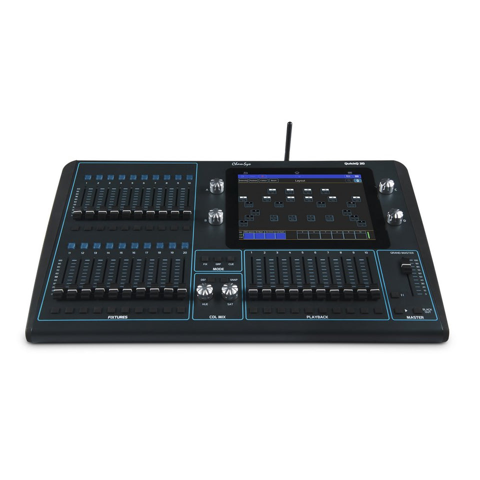 ChamSys QuickQ 20 Lighting Control Console