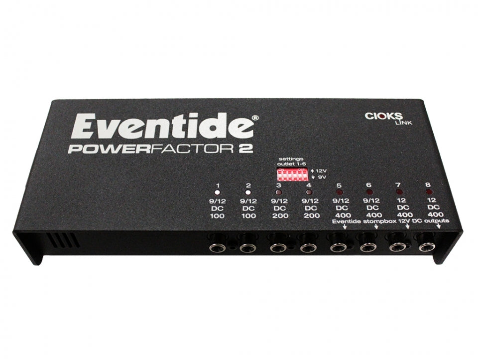 Eventide PowerFactor 2 - 8 Pedal Power Supply